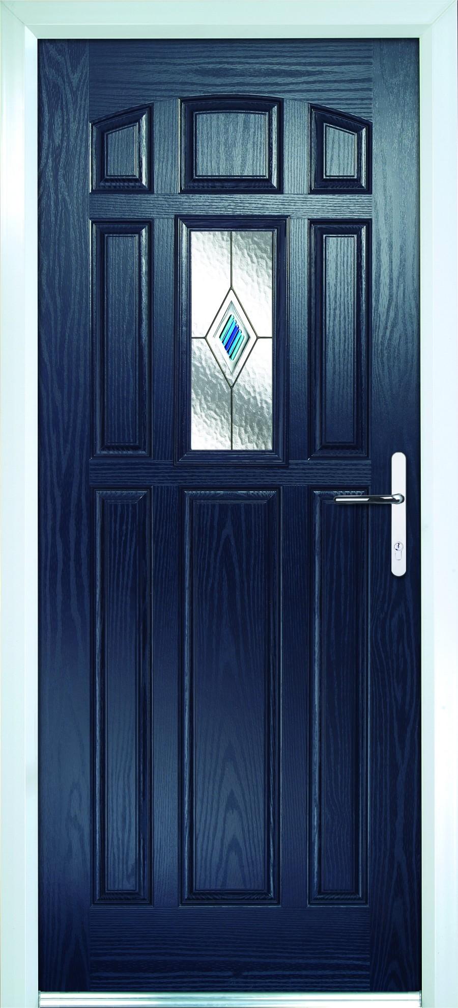 blue Composite doors Peterborough