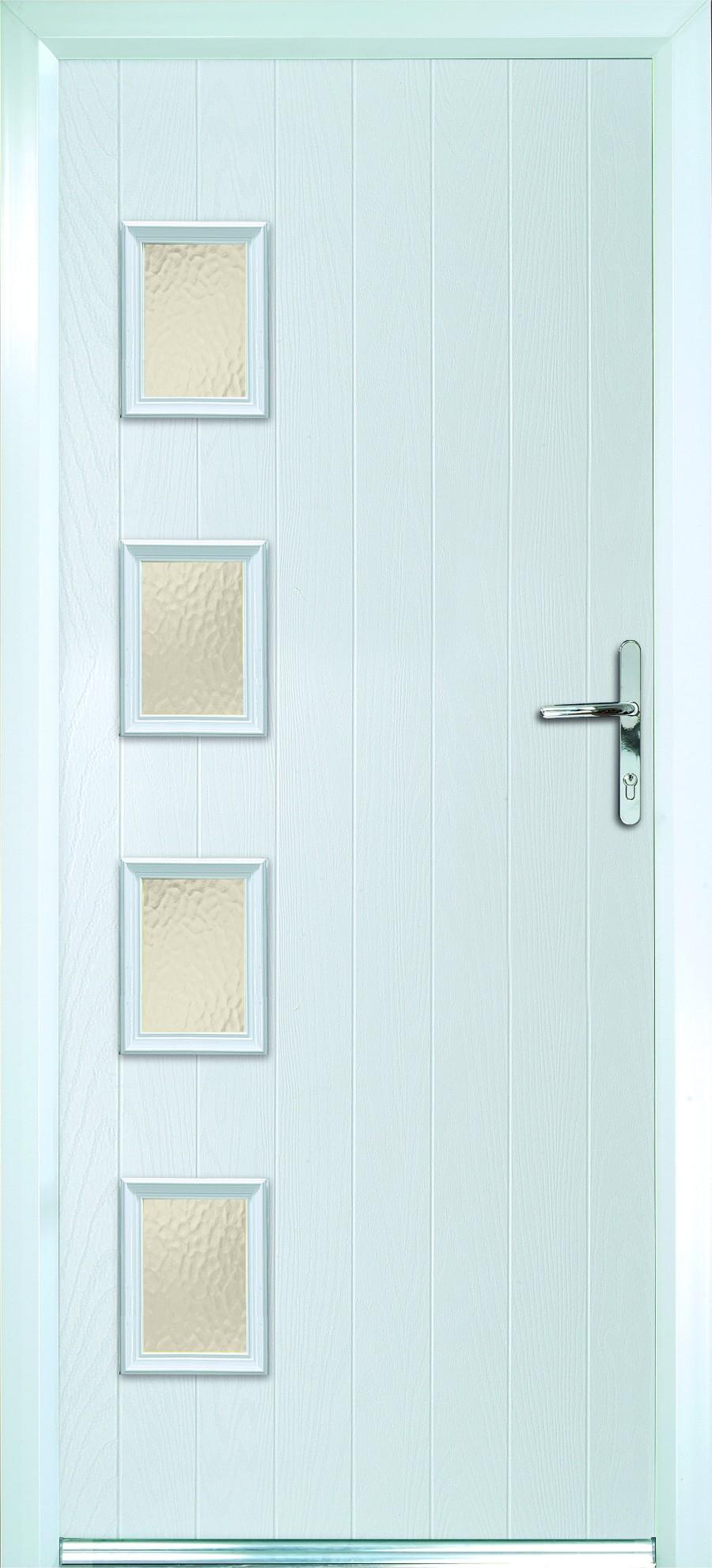 white Composite doors Peterborough