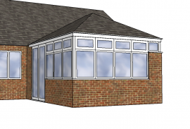 CAD conservatories peterborough