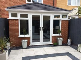 French doors conservatory Peterborough
