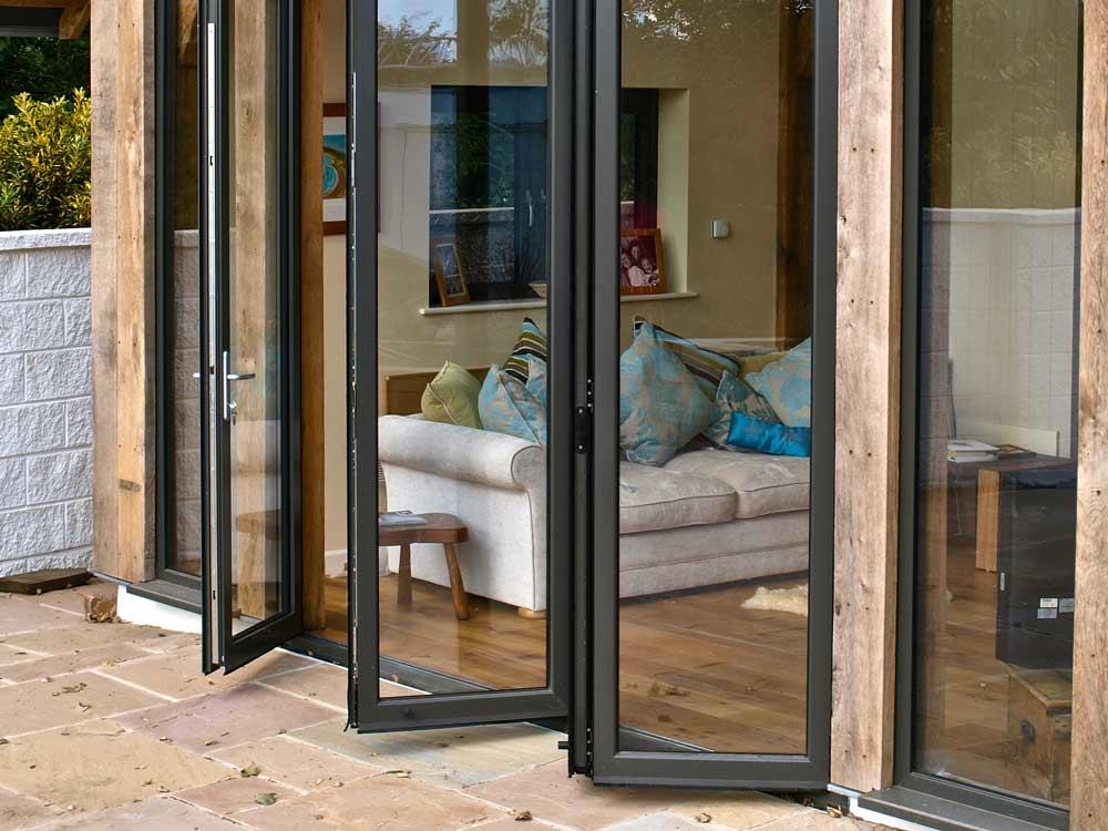 Aluminium bi-fold doors peterborough